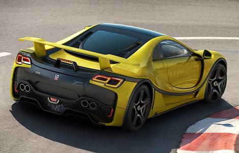 Испанцы разработали первый в мире суперкар с графеновым кузовом (4 фото) (3)