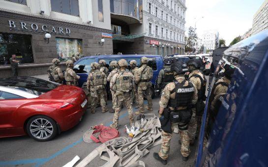 Террориста в центре Киева обезвредили - первые подробности