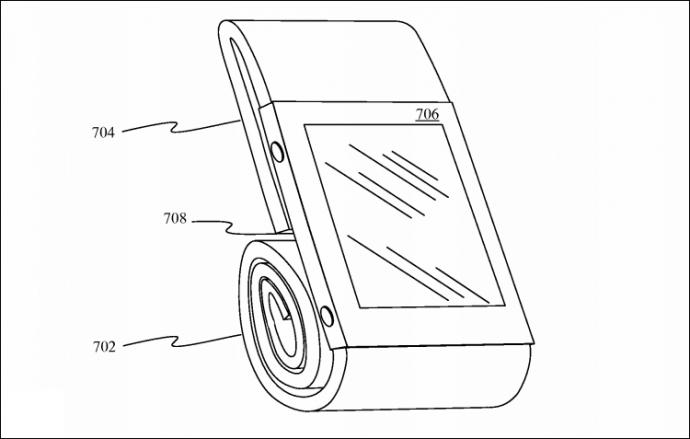 Apple запатентувала незвичайний браслет-чохол для Watch (3)