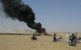 В Сирии сбит российский вертолет: появились фото