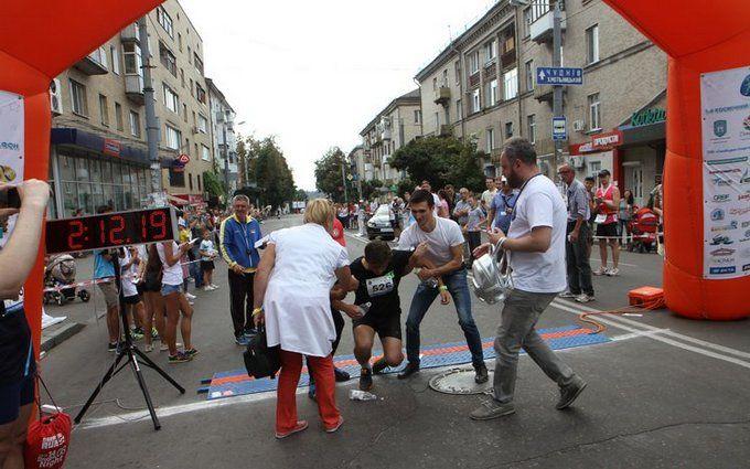 Мер Житомира знепритомнів під час марафону: з'явилися фото і відео