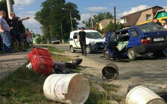 Смертельна ДТП з маршруткою під Києвом: з'явилися нові фото