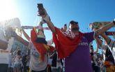 """Как фанаты """"Реала"""" и """"Ливерпуля"""" гуляют по Киеву перед финалом Лиги чемпионов: яркие фото и видео"""