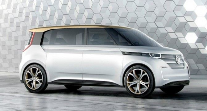 Volkswagen представила концепт электрического микроавтобуса Budd-e (5 фото, видео)