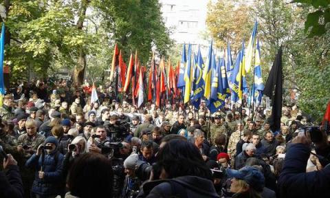 До учасників Маршу Героїв приєдналися тітушки і провокатори - нардеп