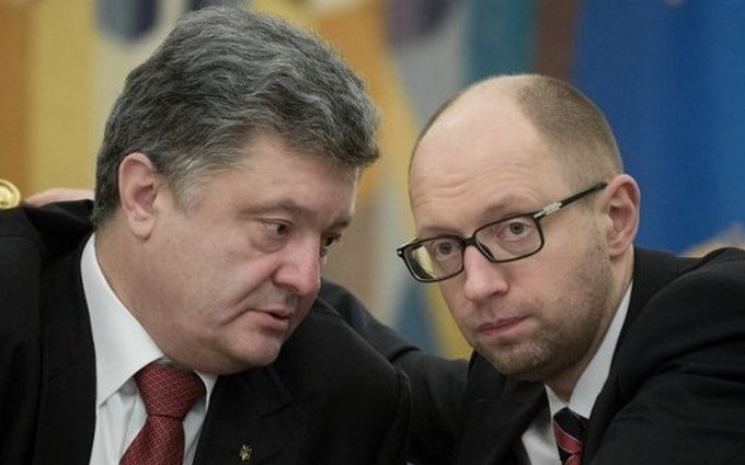 """Журналист рассказал, как у Порошенко и Яценюка готовят """"коалицию на двоих"""""""