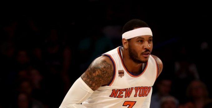 Клуб НБА «Нью-Йорк Никс» согласился обменять Кармело Энтони в«Оклахому»