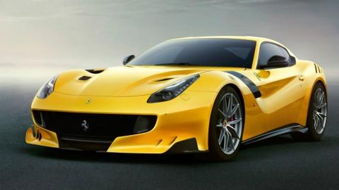 Ferrari випустила поліпшену версію суперкара F12 Berlinetta