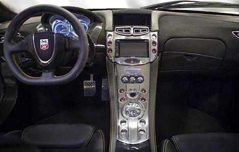 Испанцы разработали первый в мире суперкар с графеновым кузовом (4 фото) (2)