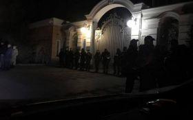 Протести в Києві: активісти відвідали Порошенка