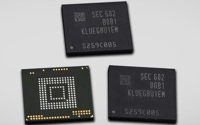 Начато производство новых чипов памяти большой емкости