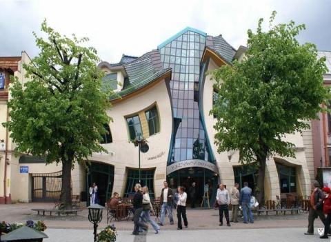 Сказочный Кривой дом в Польше (6 фото) (1)