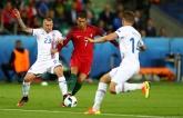 Исландия остановила Португалию с Роналду на Евро-2016: опубликовано видео