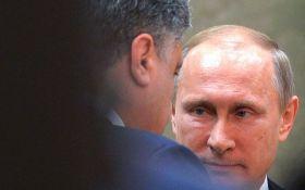 Порошенко отреагировал на визит Путина в оккупированный Крым