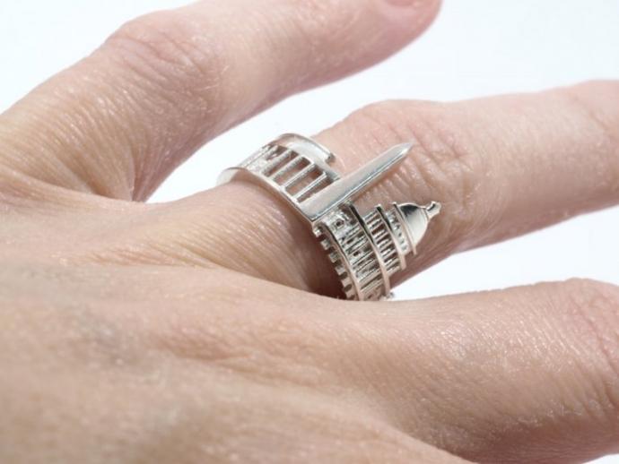 Драгоценные кольца с городскими пейзажами (22 фото) (7)