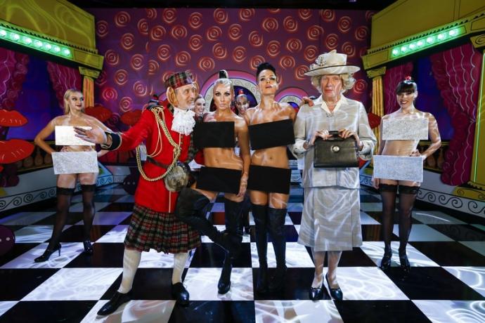 Українки з Nikita станцювали у відвертих костюмах з Жаном-Полем Готьє: опубліковані фото (1)