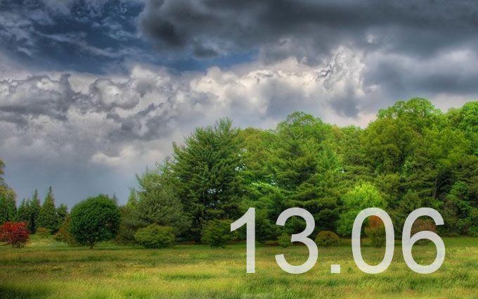 Прогноз погоды в Украине на 13 июня