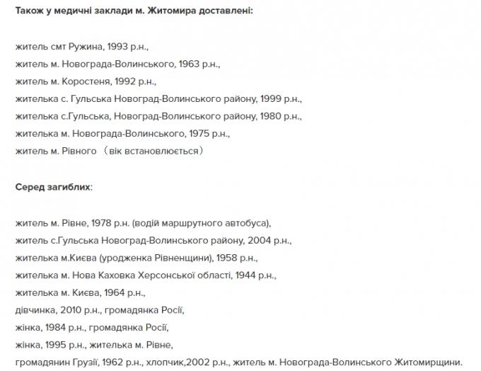 Смертельна ДТП під Житомиром: з'явилися моторошні подробиці і список жертв аварії (2)