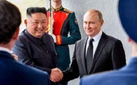 Пісні, танці, політика: як пройшла історична зустріч Путіна та Кім Чен Ина