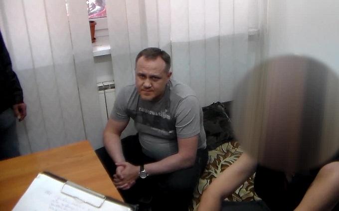 ГПУ показала відео затримання топ-менеджера Курченка