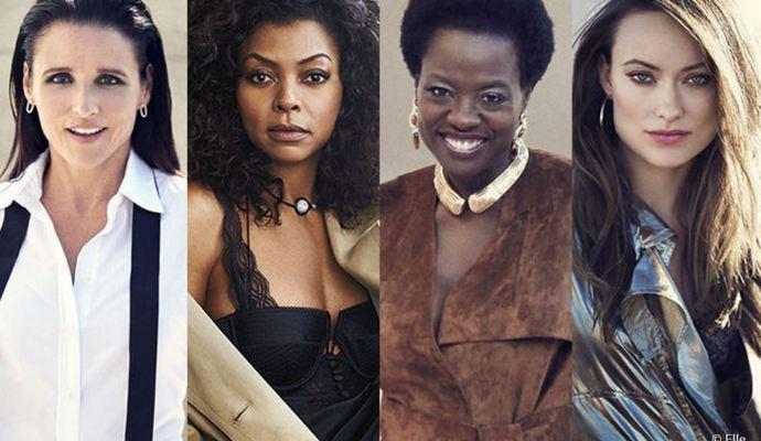 5 кращих жінок на телебаченні за версією журналу Elle (фото)