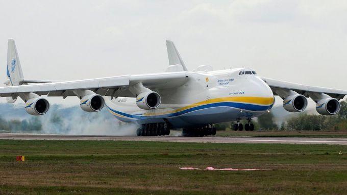 Самый большой в мире украинский самолет-гигант совершил первый полет: появилось видео