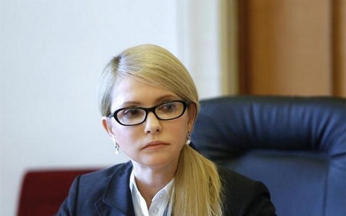 Тимошенко вже задумалася про об'єднану опозицію