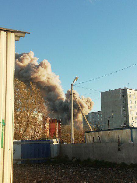 В России на заводе пиротехники произошел мощный взрыв - фото и видео (1)