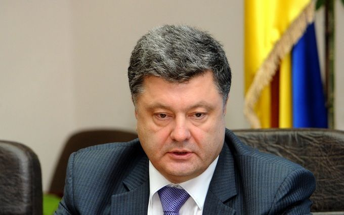 Порошенко зробив заяву щодо блокади Донбасу