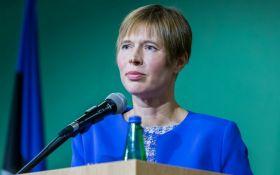Это война и оккупация: президент Эстонии о ситуации в Украине