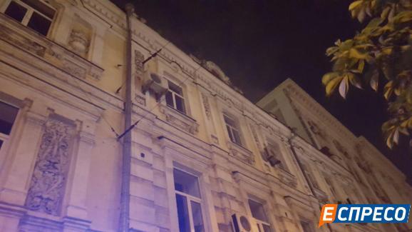 У центрі Києва влаштували вибух: з'явилися фото і відео (1)