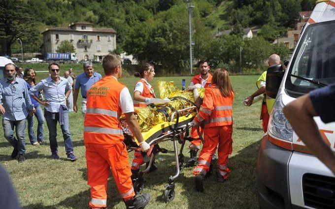 Землетрус в Італії: з'явилися уточнені дані про загиблих і нове відео