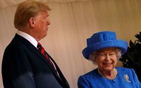 Особистий протест: у брошках Єлизавети II під час зустрічі з Трампом помітили таємне послання