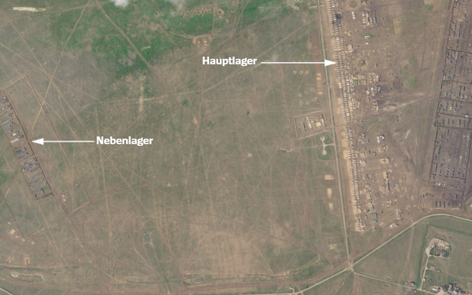 Spiegel показала новий військовий табір Росії в Криму на супутникових фото (3)