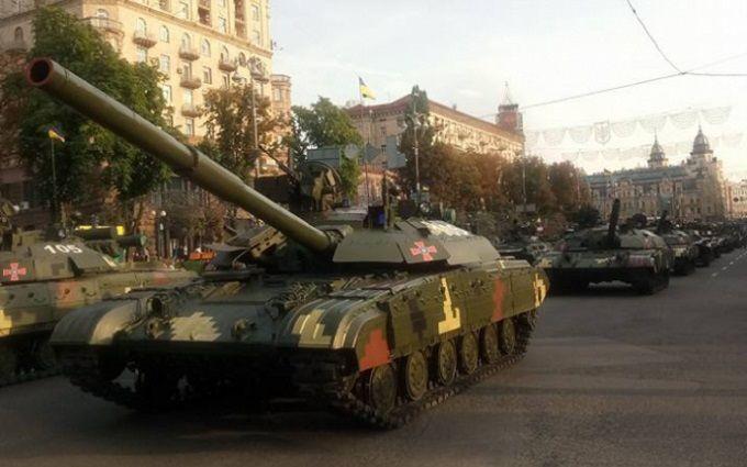 Репетиція військового параду в Києві: з'явилися вражаючі відео
