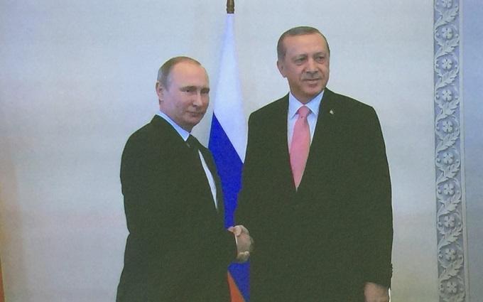 Путин встретился с Эрдоганом: появилось фото