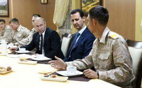 Асад оправдался перед Путиным за сбитый российский самолет Ил-20