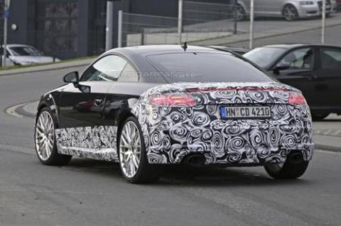 Audi TT-RS Coupe проходить тести у власному кузові (18 фото) (6)