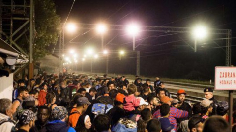Влада Словенії блокує мігрантів на кордоні