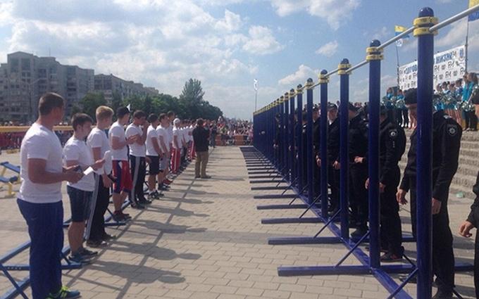 У Дніпрі поліцейські з усієї України з'ясовували, хто сильніший: з'явилися яскраві фото