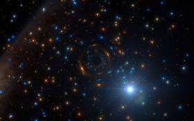 Скопление сотни тысяч звезд: в NASA показали новый яркий снимок из космоса