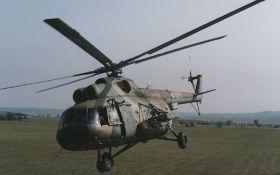 Падіння гелікоптера в Чечні: опубліковано відео з місця
