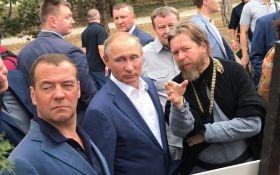 Путін і Медведєв в окупованому Криму: з'явились фото