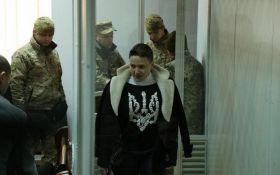 Савченко відзначилася черговою резонансною заявою в суді