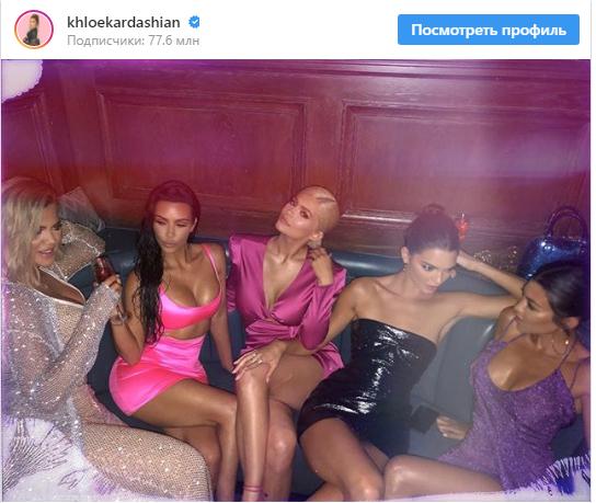 Одна из самых богатых красавиц планеты Кайли Дженнер празднует день рождения - пикантные фото (2)