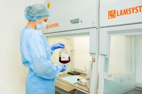 Семейный банк пуповинной крови ГЕМАФОНД ввел в эксплуатацию новую лабораторию