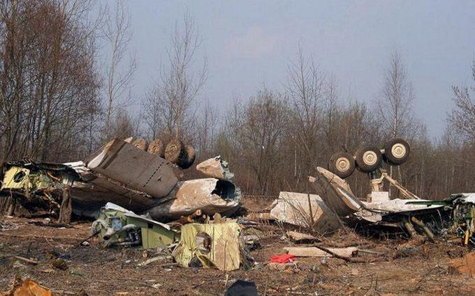 Польша собирается забрать уРФ обломки самолета Качиньского через суд ООН