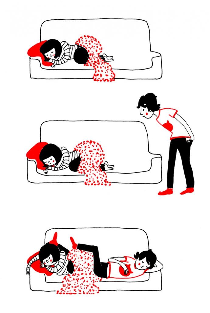 Как прекрасно быть вместе: веселые комиксы о семейной жизни (7)