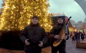 Нацгвардійці оригінально привітали українців з Новим роком: приголомшливе відео