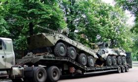 Нацгвардия Украины получила новейшую боевую технику: опубликованы фото